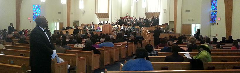 Emancipation Service 2014 Peace Missionary Baptist Church