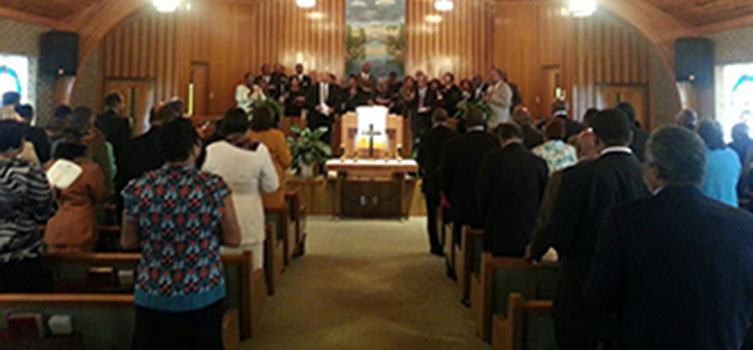 IMA Installation Service 2013 Community Baptist Church Durham, NC